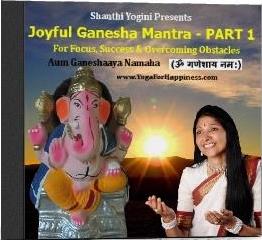 Mockup Ganesha Mantra Part 1 CD cover